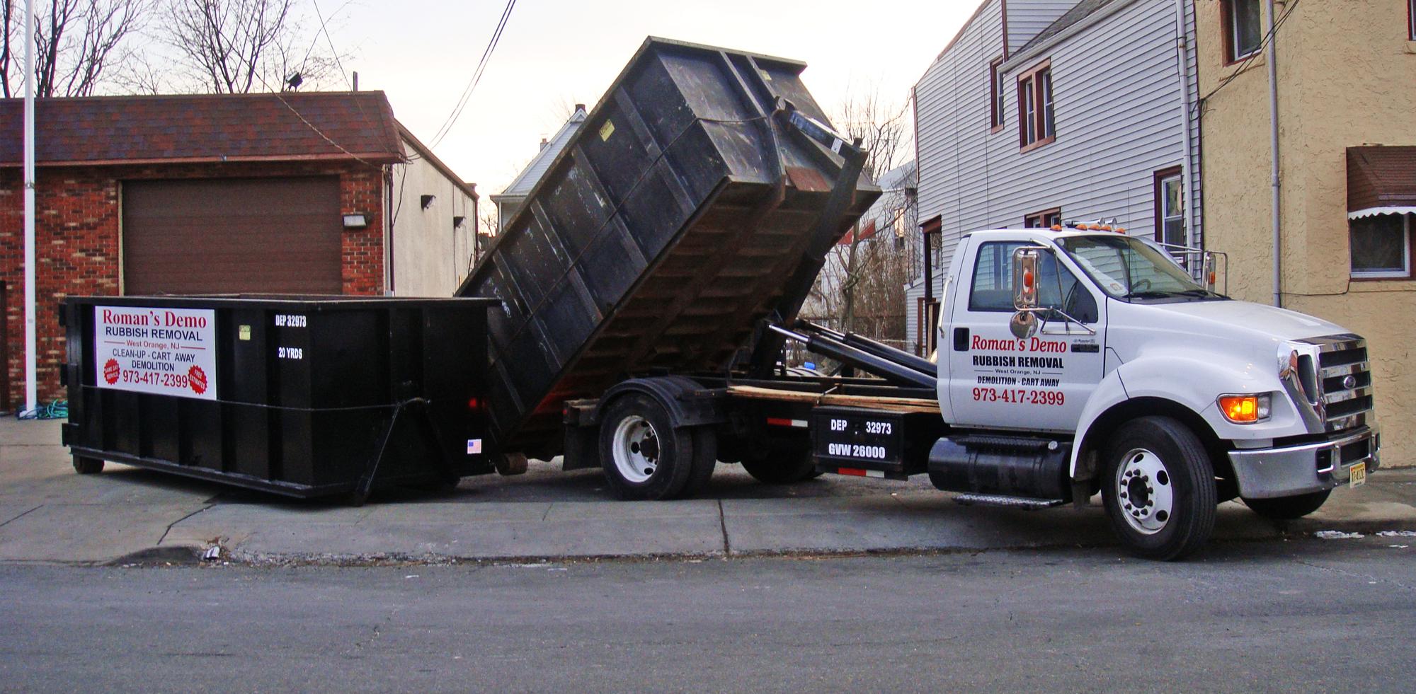 Dumpster Rentals, Junk Removal & Demolition
