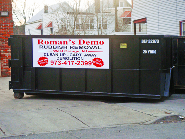 Dumpster Rentals in Bergen County NJ